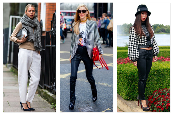 Fashion Houndstooth Trend