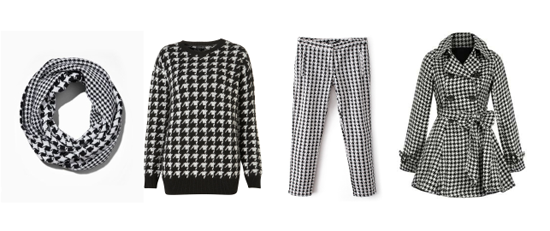 Fashion Trend Houndstooth