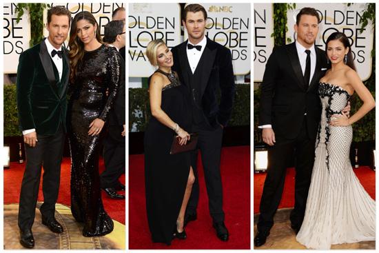 Golden-Globe-best dressed-couple
