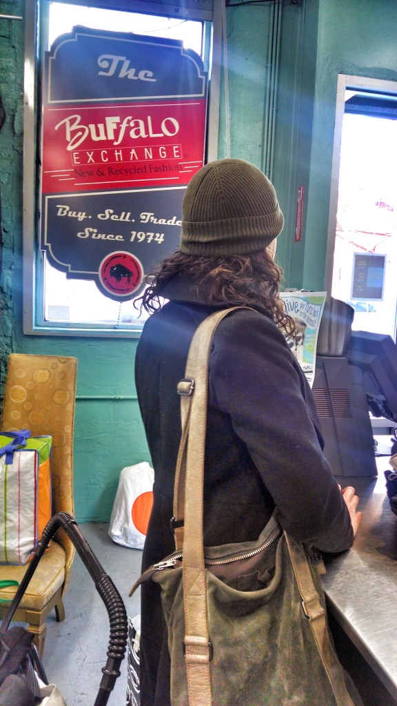 Buyer at Buffalo Exchange in Boerum Place