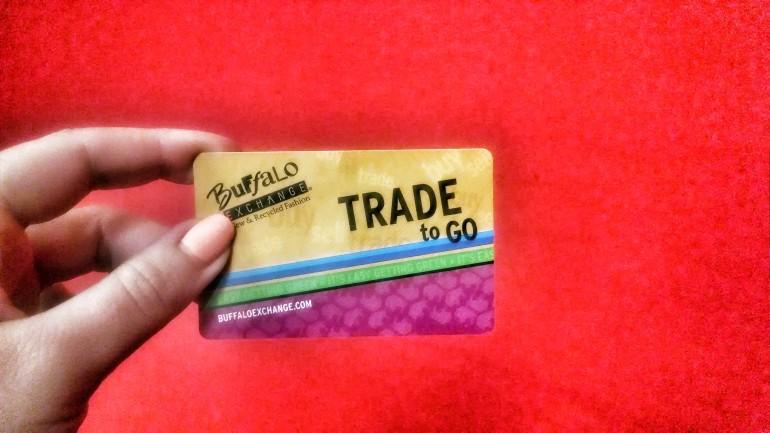 Buffalo Exchange Card