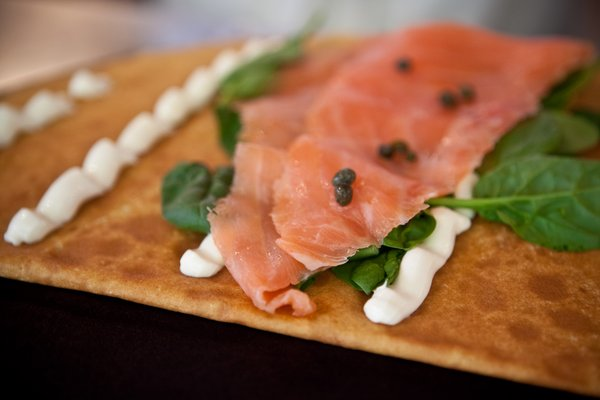 Salmon Crepe from Vive la Crepe