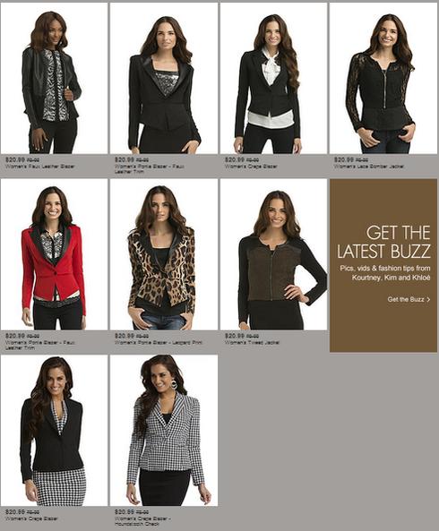 kardashian kollection-sears-outerwear