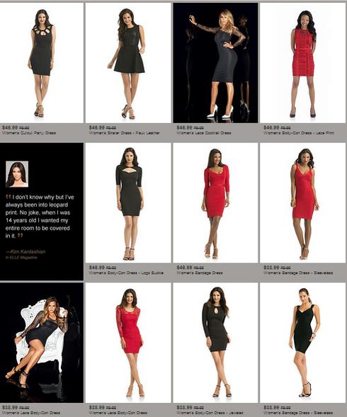 kardashian kollection-sears-dresses
