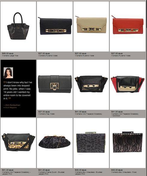 kardashian kollection-sears-bags