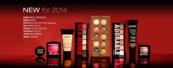 nyx cosmetics-new-2014
