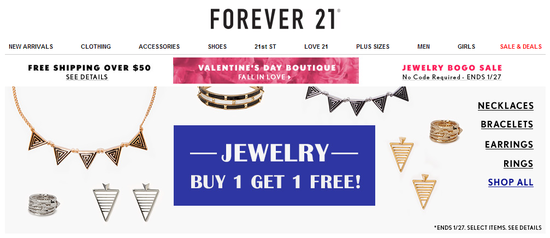 Forever21 - Sale