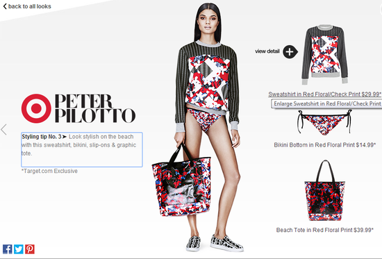 aPeter-Pilotto-for-target-sweatshirt-in-red-floral