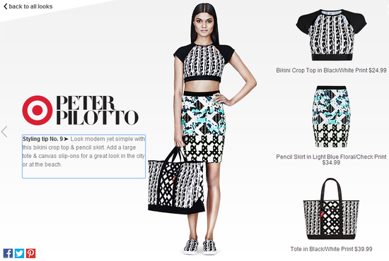 Peter-Pilotto-for-target-bikini-crop-top