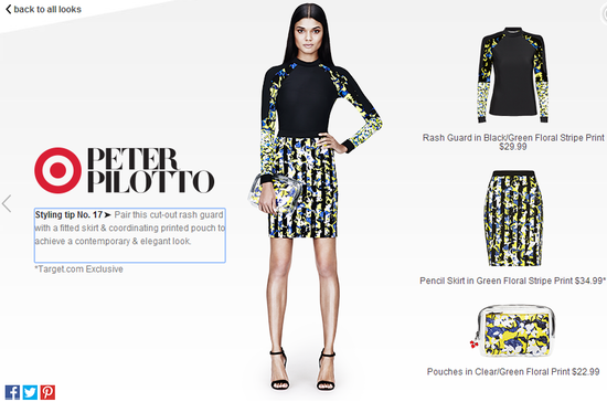 Peter-Pilotto-for-target-rash-guard