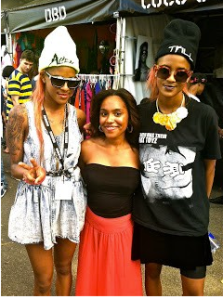 Afro Punk Festival CoCo and Breezy