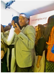 Mase Rapper Mercedes-Benz Fashion Week