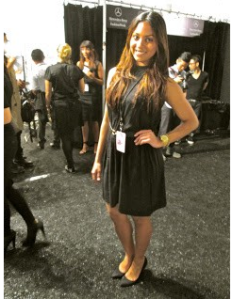 Berkeley College Student Mercedes-Benz Fashion Week