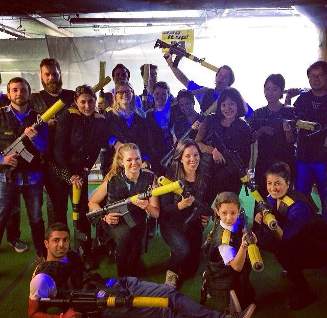 Yellow Team, Laser Tag