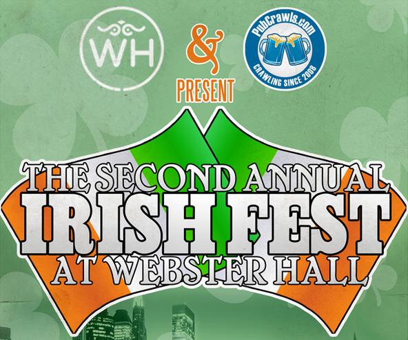 irish fest at webster hall