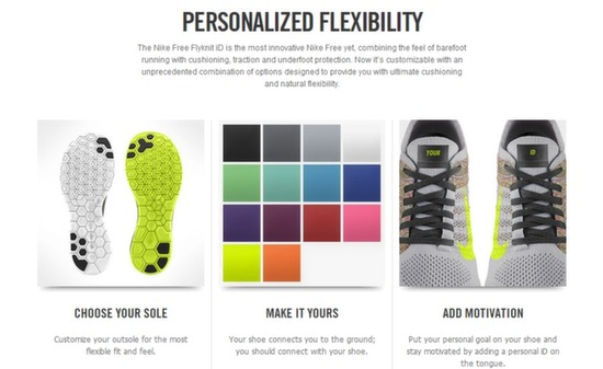 nike free id features