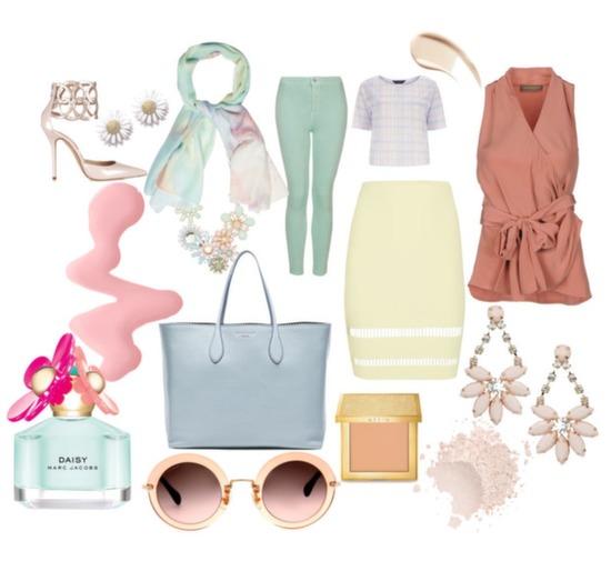 Pastels Spring Trend 2014