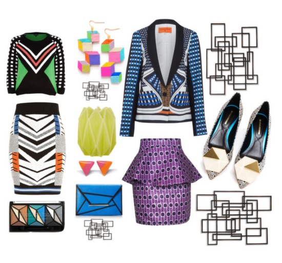 Geometric Patterns Spring Trend 2014