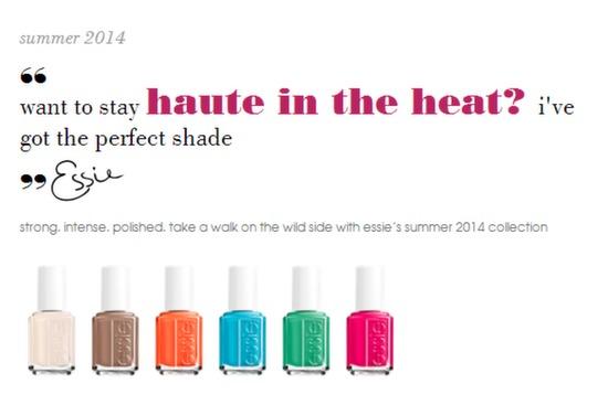 Essie Summer 2014 Collection