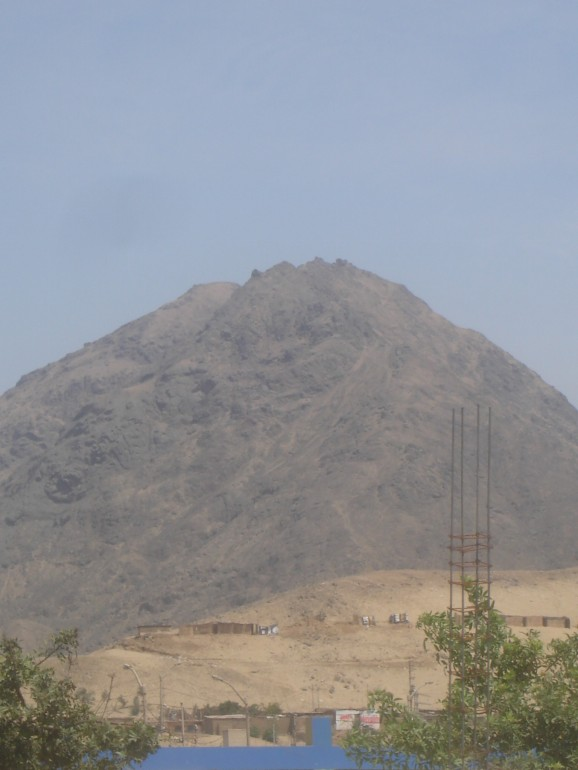 Mountains outside of clinic