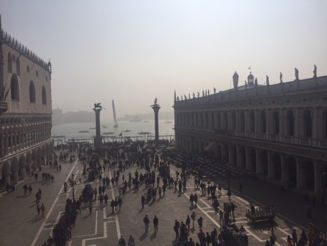 View from the top of Saint Mark's Basilica