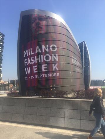 Advertisements for Milan Fashion Week