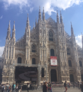 The Milan Cathedral (Duomo)